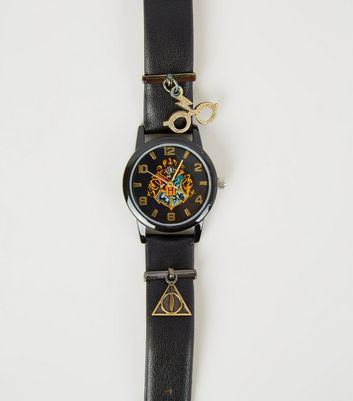 Black Harry Potter Charm Watch