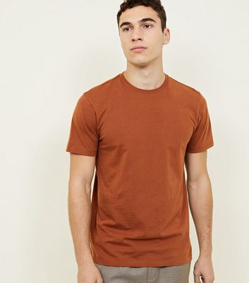 Rust Crew Neck T-Shirt