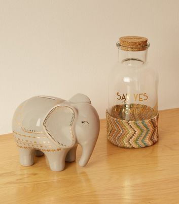 Glass Say Yes Adventure Slogan Money Box