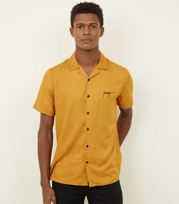 Yellow Toronto Short Sleeve Shirt