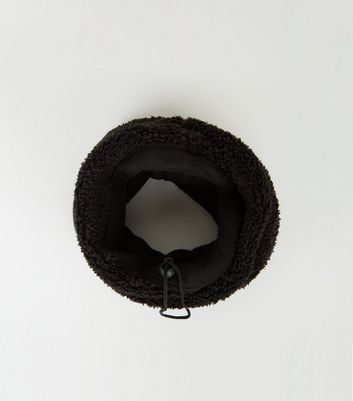 Black Borg Drawstring Snood