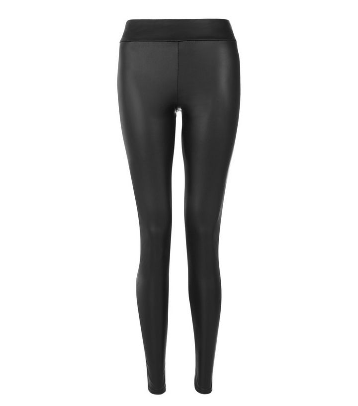 new concept big discount of 2019 new authentic Black Leather-Look High Waist Leggings Add to Saved Items Remove from Saved  Items