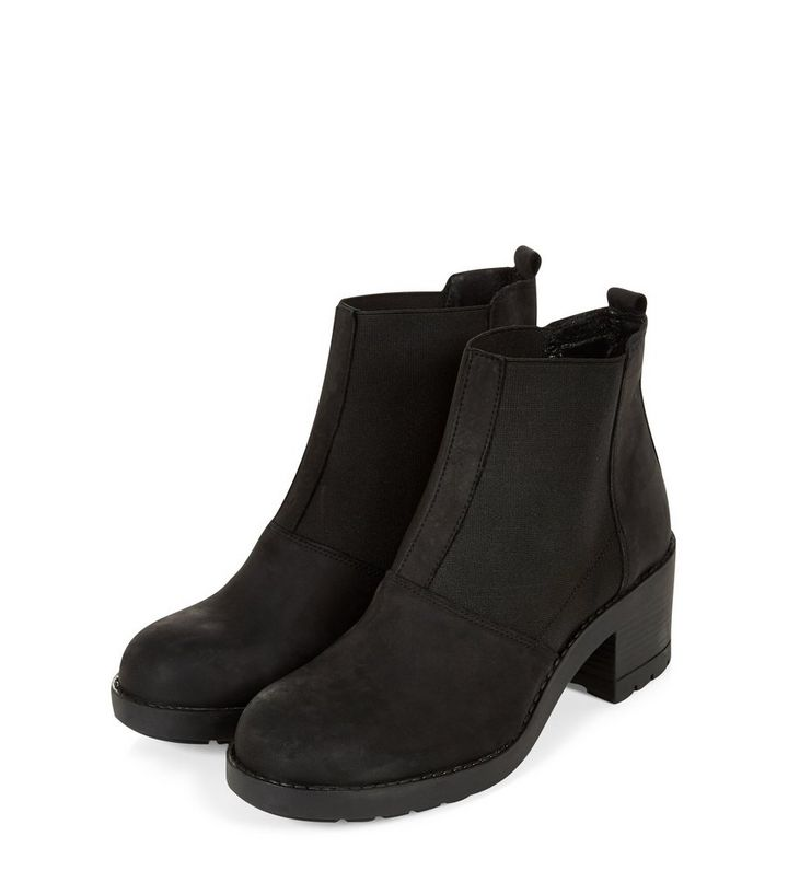 ... Black Leather Block Heel Chelsea Boots. ×. ×. ×. VIDEO Shop the look a5bf302bf65d