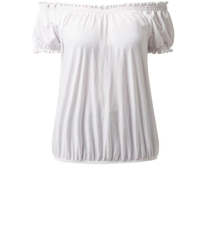 37433c691e White Short Sleeve Gypsy Top