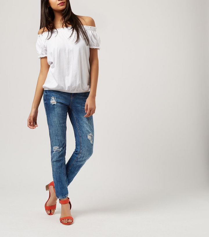 2acf56cd5e ... White Short Sleeve Gypsy Top. ×. ×. ×. Shop the look
