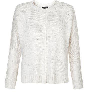 New Look Damen Pullover Reverse Seam Boxy