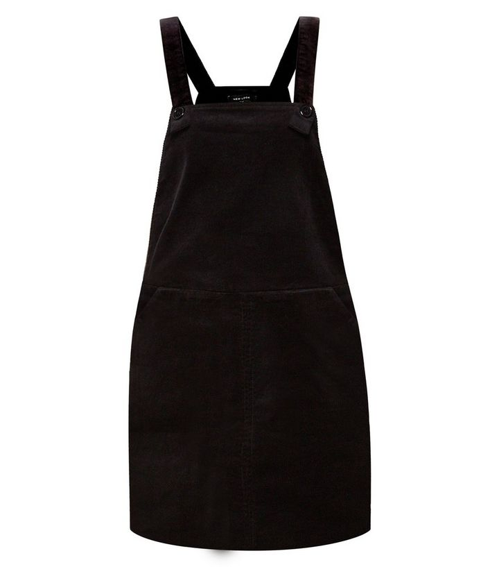 real quality luxuriant in design coupon codes Black Cord Pinafore Dungaree Dress Für später speichern Von gespeicherten  Artikeln entfernen