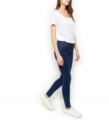 Dark Blue Supersoft Super Skinny Jeans