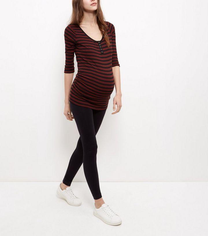 c4e9f00a2a6b3 ... Womens Clothing · Leggings · Maternity Black Seam Free Leggings. ×. ×.  ×. Shop the look