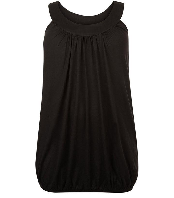 75d1783ab7527b Curves Black Bubble Hem Vest