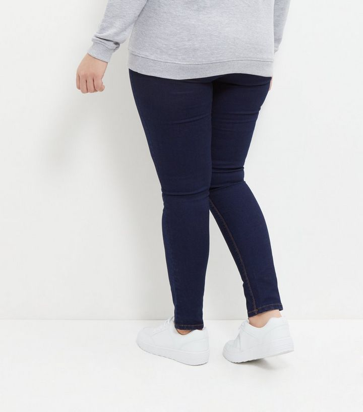 4811240f3c4 ... Plus Size Navy Pocket Jeggings. ×. ×. ×. Shop the look