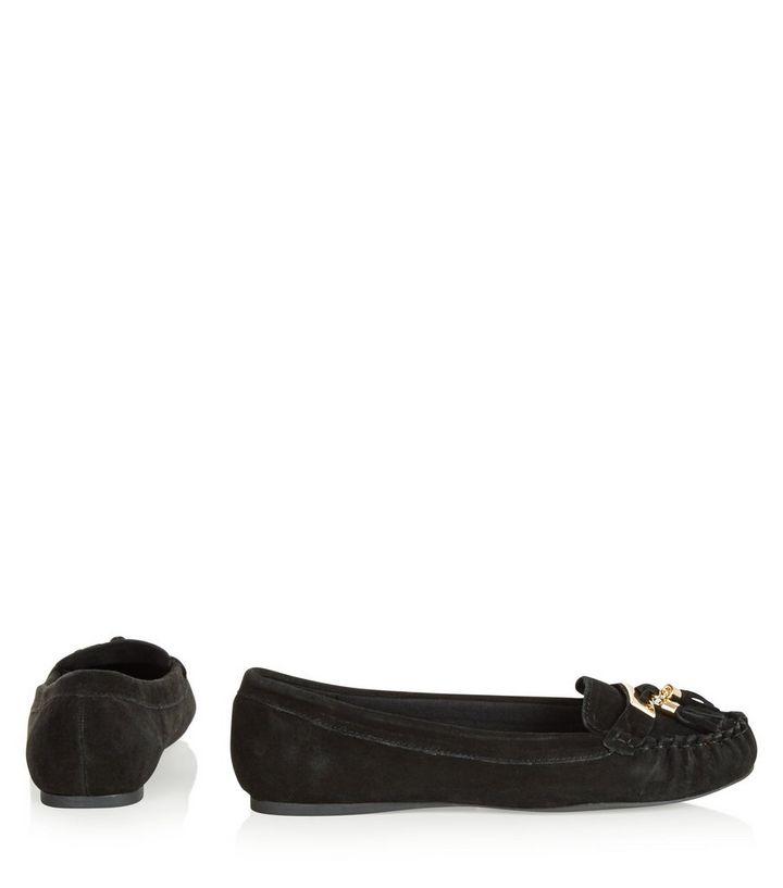 052b2aa3dd8 ... Wide Fit Black Suede Tassel Moccasins. ×. ×. ×. VIDEO Shop the look