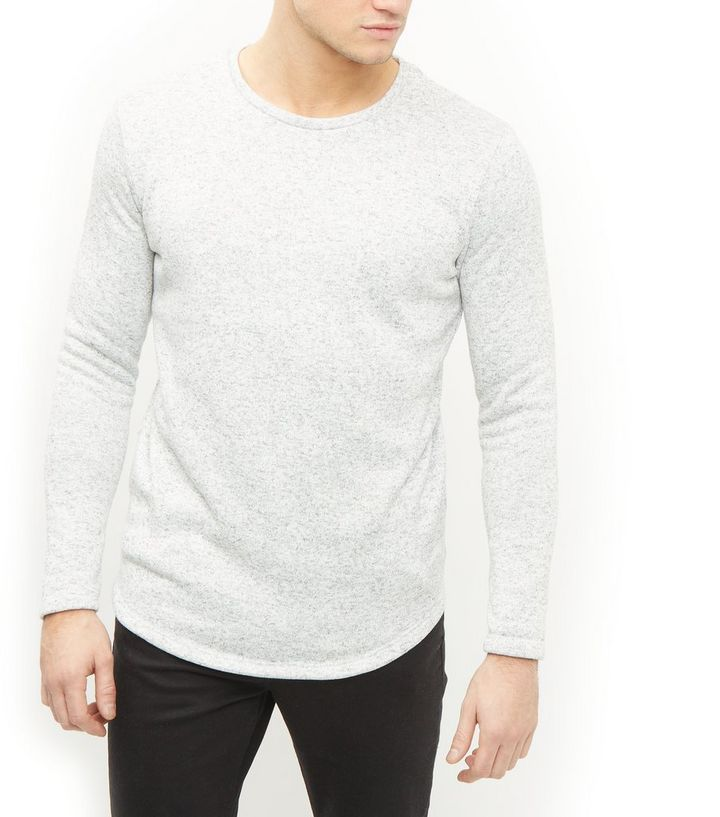 307a7c648 Jack and Jones Premium Grey Crew Neck Long Sleeve Sweatshirt Add to Saved  Items Remove from Saved Items