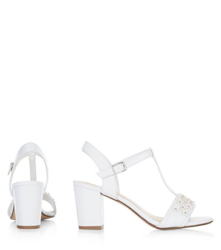 94649054b78b ... Teens White Floral Embellished Block Heel Sandals. ×. ×. ×. VIDEO Shop  the look