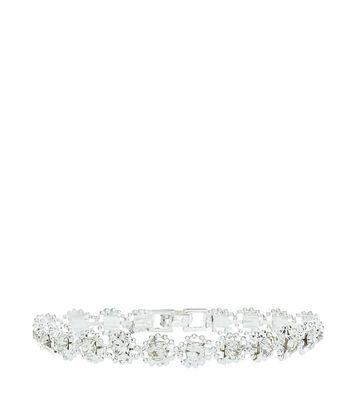 Crystal Tennis Bracelet New Look