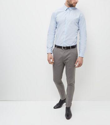 Pale Blue Long Sleeve Shirt New Look