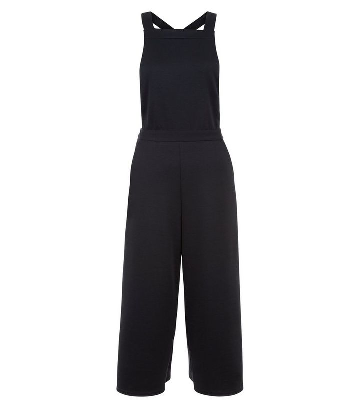 2d2153c5b8d0 Black Pinafore Jumpsuit