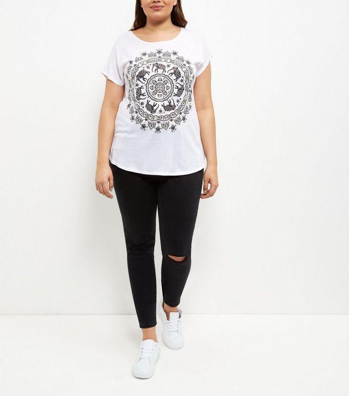 53f1d294d28a6 ... Elephant Print T-Shirt. ×. ×. ×. Shop the look