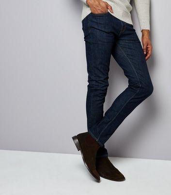 Navy Skinny Jeans New Look