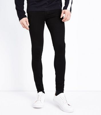 Black Super Skinny Stretch Jeans