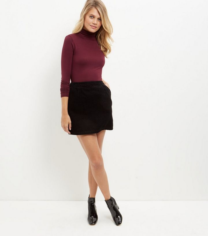 first look cheapest price choose authentic Black Cord A-Line Skirt Add to Saved Items Remove from Saved Items