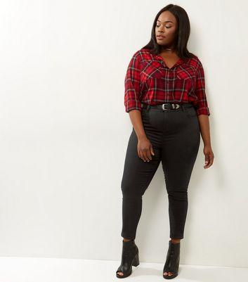 Curves Black Skinny Jeans New Look