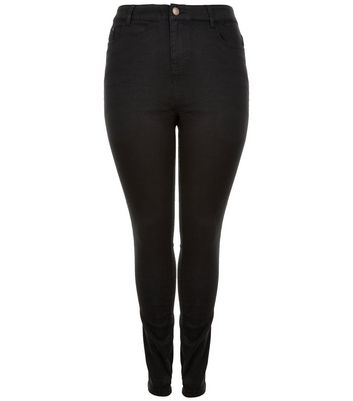Curves Black Skinny Jeans New Look