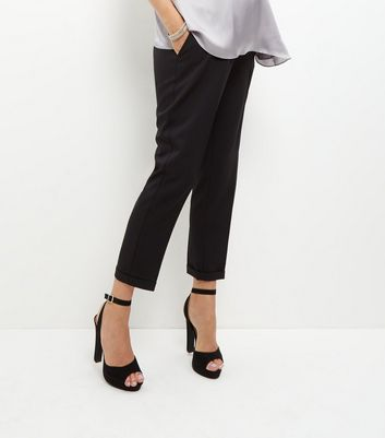 Maternity Black Over Bump Trousers