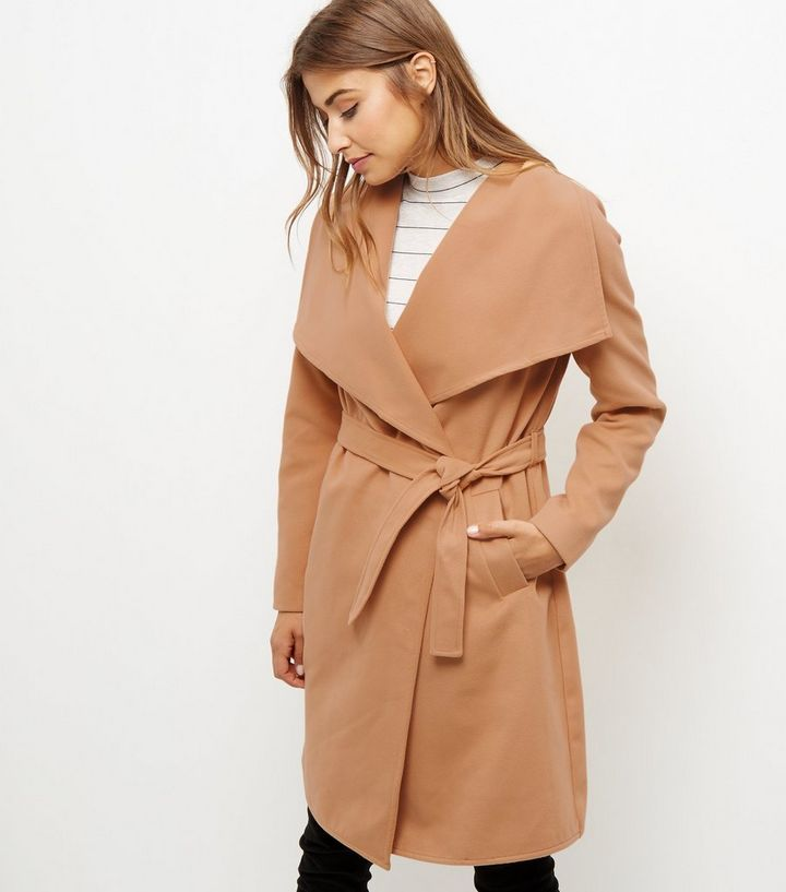 discount coupon new cheap hot-selling genuine JDY Camel Longline Trench Coat Add to Saved Items Remove from Saved Items