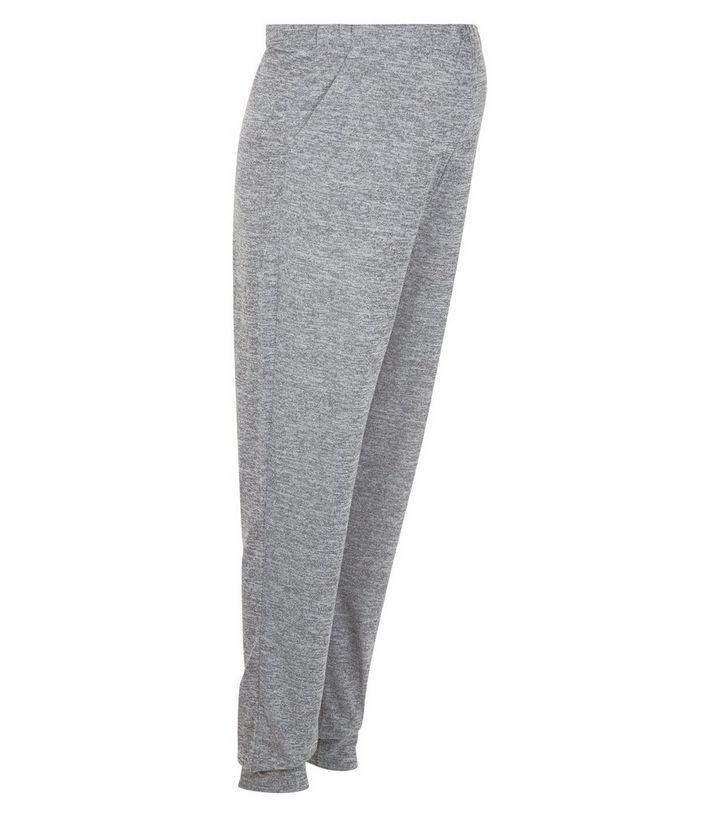 add8e4a6b835e Maternity Grey Fine Knit Joggers