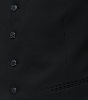 Black Suit Waistcoat New Look