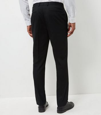 Black Slim Fit Suit Trousers New Look