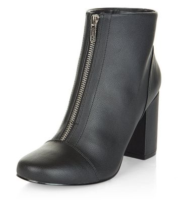newest 01bc5 8656b black-zip-front-block-heel-ankle-boots.jpg