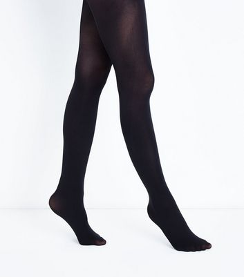 Black Premium 50 Denier Tights New Look