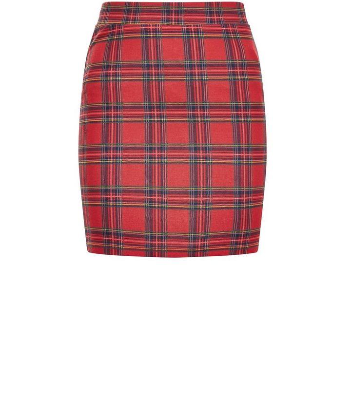 c6f700dae51d38 Girls Red Tartan Check Mini Skirt | New Look