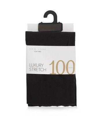Curves Black 100 Denier Tights New Look
