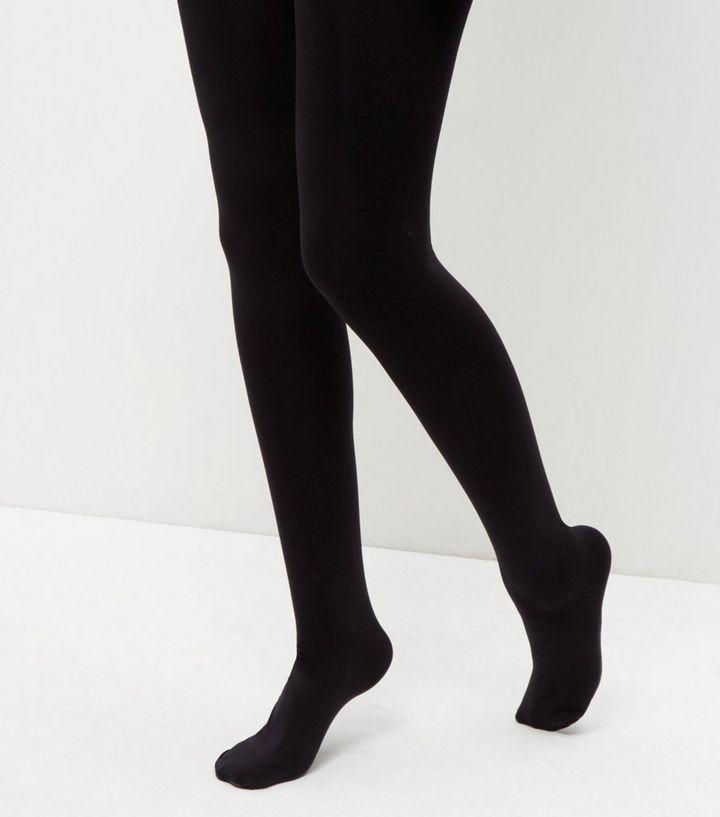 8425422885a32 Black Premium 200 Denier Tights | New Look
