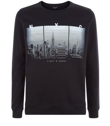 Mens New York City Sweatshirts BritishTown Yabancı Dil Kursu