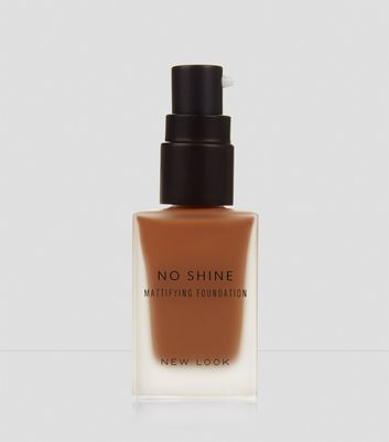 Caramel Brown No Shine Mattifying Foundation New Look