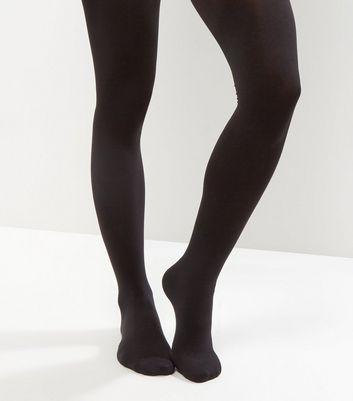 Black 80 Denier Luxury Shaping Tights