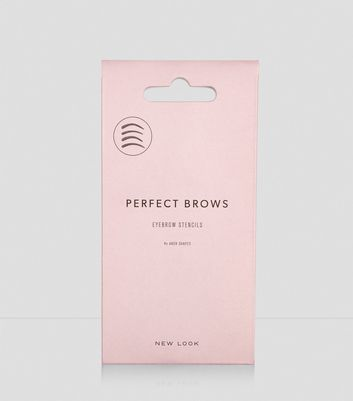 4 Pack Eyebrow Stencils New Look