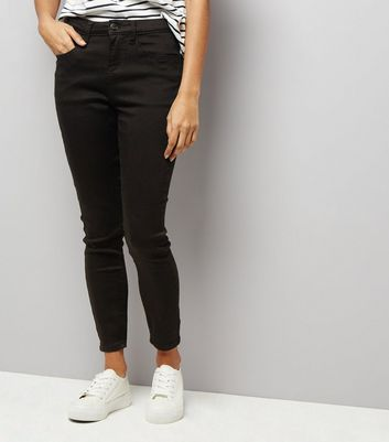 Petite Black Super Soft Super Skinny India Jeans