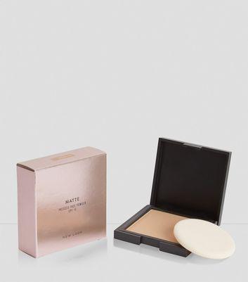 Natural Tan Matte Pressed Face Powder New Look