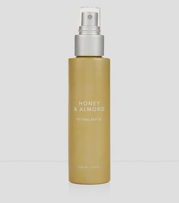 Honey and Almond Nourishing Body Oil New Look