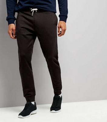Black Basic Joggers New Look