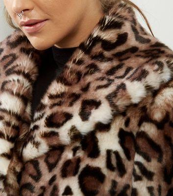 Anita and Green Faux Fur Leopard Print Coat | New Look