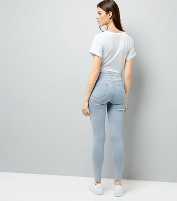 Pale Blue Super Soft Super Skinny India Jeans New Look