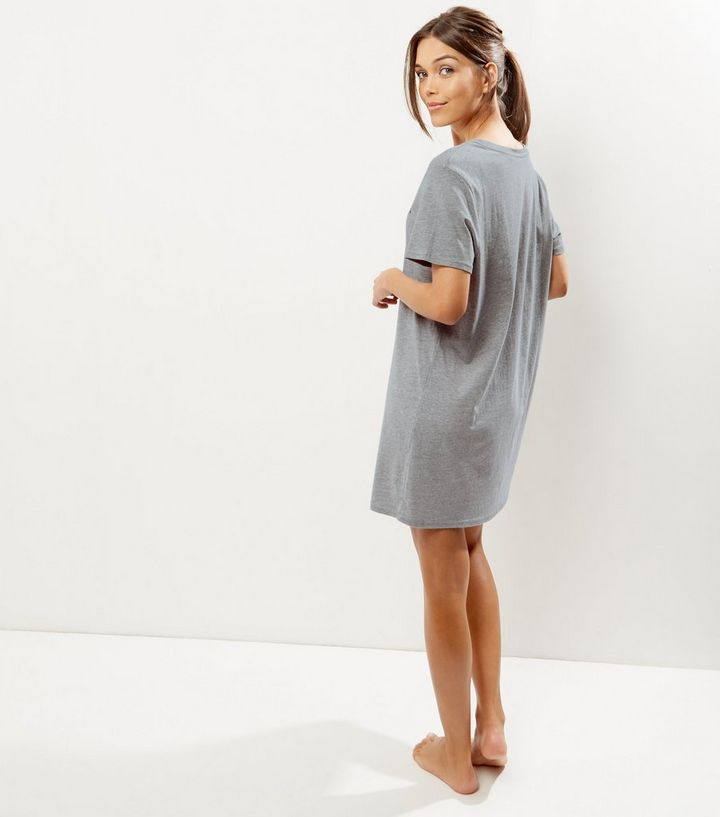 0716019e3d ... Grey Slogan Cactus Print Night Dress. ×. ×. ×. Shop the look