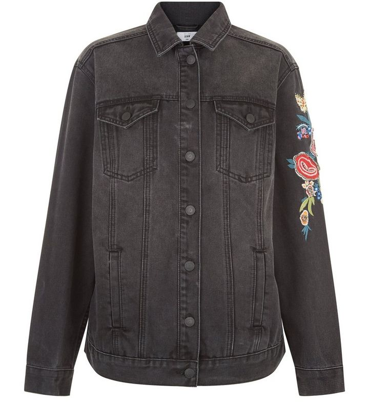 f667f0faa74 ... Black Bird Embroidered Denim Jacket. ×. ×. ×. Shop the look