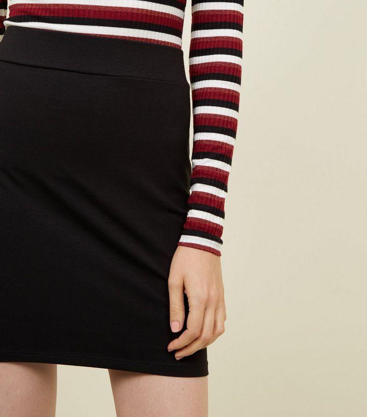 833bb0498 ... Black Cotton Mix Mini Tube Skirt. ×. ×. ×. Shop the look